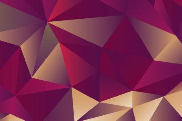 FOTOGRAFIA 3d Siatka trójkątów grafika